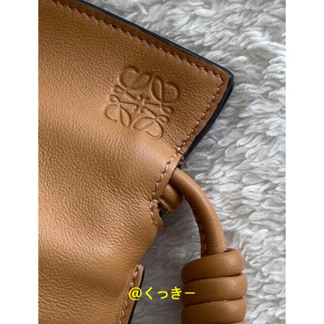 LOEWE(ロエベ)の最終価格!新品⭐️ LOEWE フラメンコクラッチ ナノ ショルダーバッグ レディースのバッグ(ショルダーバッグ)の商品写真