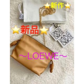LOEWE - 最終価格!新品⭐️ LOEWE フラメンコクラッチ ナノ ショルダーバッグ