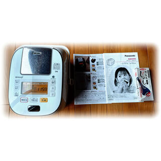 Panasonic - ☆美品80%オフ★パナソニック 5.5合 炊飯器☆SR-PW105-W