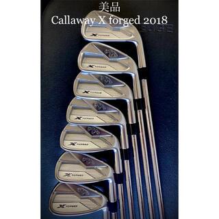 Callaway - ⭐️美品X forged 2018⭐️キャロウェイ X フォージド アイアン