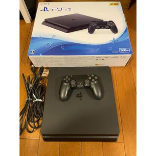 PlayStation4 - playstation4 本体 cuh-2100ab01 500gb