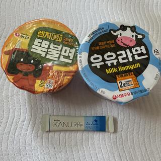 【日本未発売 含む】ミルクラーメン プルコギラーメン コーヒー 韓国ラーメン(麺類)