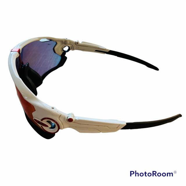 Oakley(オークリー)のオークリー ジョーブレーカー スポーツ ロードバイク プリズムレンズ 白 ゴルフ メンズのファッション小物(サングラス/メガネ)の商品写真