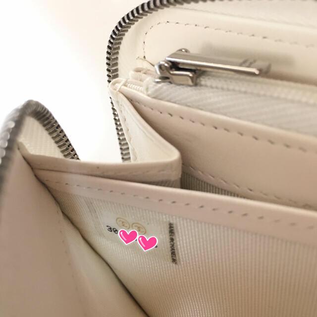 CHANEL(シャネル)の【正規品】シャネル 長財布 マトラッセ キャビアスキン 白 ホワイト レディースのファッション小物(財布)の商品写真