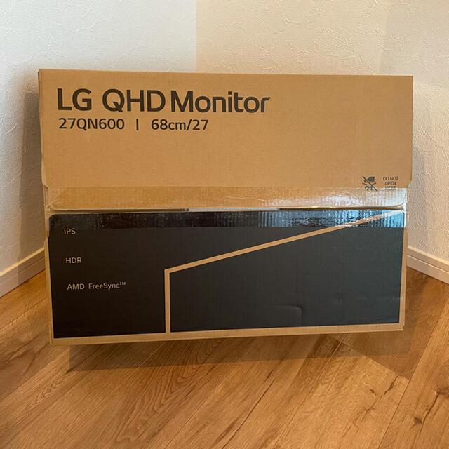 LG Electronics(エルジーエレクトロニクス)の新品未使用品 LGモニター 27QN600-B WQHD(2560×1440) スマホ/家電/カメラのPC/タブレット(ディスプレイ)の商品写真