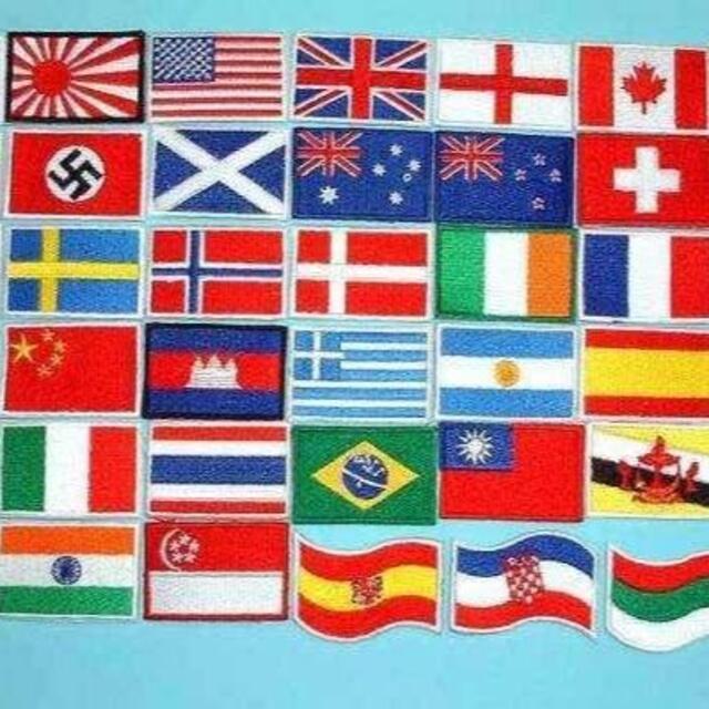 ■ 日本 国旗 ワッペン 小 日の丸 オリンピック Japan ■ エンタメ/ホビーのミリタリー(その他)の商品写真