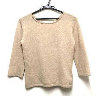 ランバン(LANVIN)のランバン 七分袖セーター サイズ38 M -(ニット/セーター)