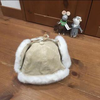 プティマイン(petit main)のフライトキャップ petit main 52cm(帽子)