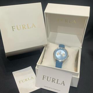 フルラ(Furla)の新品★FURLAフルラ メトロポリスQZ79073レディース時計ブルー(腕時計)