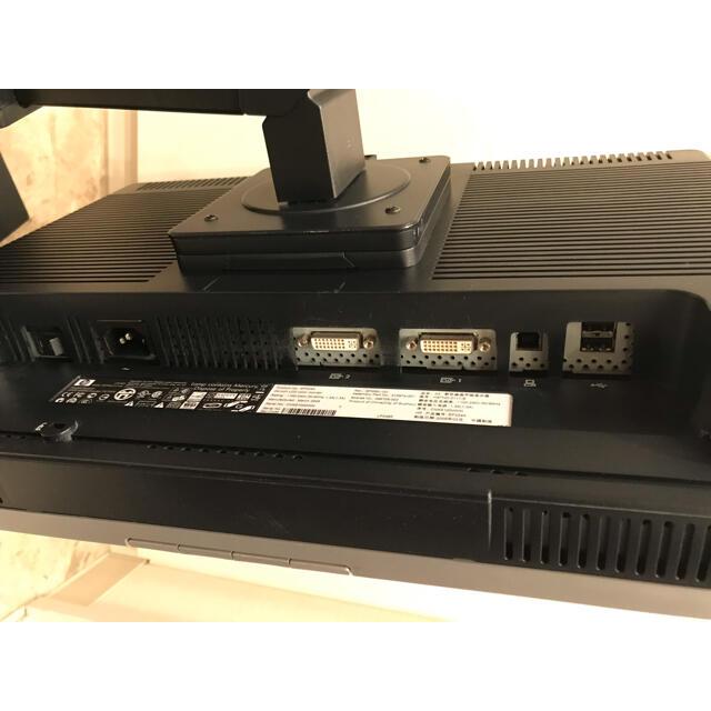 HP(ヒューレットパッカード)の【送料込】24インチ PCディスプレイ HP LP2465 スマホ/家電/カメラのPC/タブレット(ディスプレイ)の商品写真