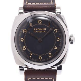 オフィチーネパネライ(OFFICINE PANERAI)のオフィチーネパネライ  ラジオミール 3デイズ アッチャイオ 裏スケ 腕時(腕時計(アナログ))