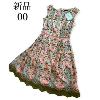 トッカ(TOCCA)の新品 TOCCA PRIMULA JULIAN  ドレス 00 刺繍(ひざ丈ワンピース)