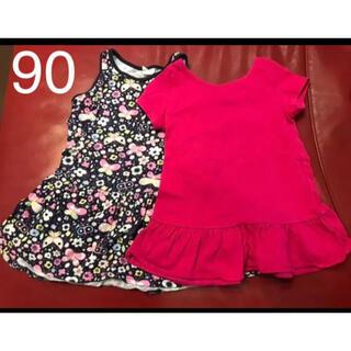 ベビーギャップ(babyGAP)のベビーギャップ h&m ワンピース トップス 92 90 女の子 (Tシャツ/カットソー)