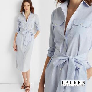 ポロラルフローレン(POLO RALPH LAUREN)のシャツ ワンピース  ラルフローレン レディース(ロングワンピース/マキシワンピース)