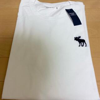 アバクロンビーアンドフィッチ(Abercrombie&Fitch)の新品⭐️未使用 アバクロTシャツ 白(Tシャツ/カットソー(半袖/袖なし))