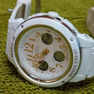 Baby-G - Baby-G 腕時計 ホワイト白