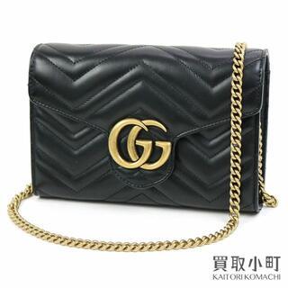 グッチ(Gucci)のグッチ 【GUCCI】GGマーモント キルティング ミニバッグ(ショルダーバッグ)