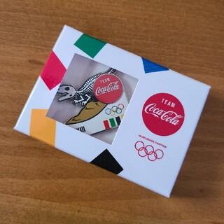 コカコーラ(コカ・コーラ)のコカ・コーラ ピンバッチ オリンピック 福井県(ノベルティグッズ)
