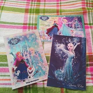 アナと雪の女王 - 東京ディズニーランド アナ雪 ポストカード 3枚