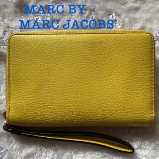 マークバイマークジェイコブス(MARC BY MARC JACOBS)の MARC JACOBS マークジェイコブス ラウンドファスナー 財布(財布)