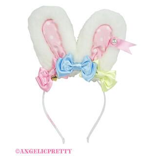 Angelic Pretty - カラフルリボンリリカルバニーカチューシャ