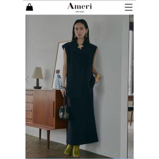 アメリヴィンテージ(Ameri VINTAGE)のameri OTONA WRAP VEST SET UP DRESS(セット/コーデ)