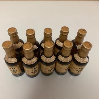サントリー(サントリー)のサントリー山崎12年 ミニボトル(50ml)10本(ウイスキー)