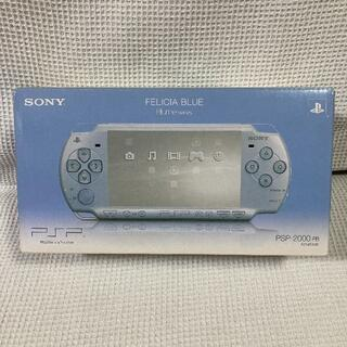 PlayStation Portable - 【希少】PSP-2000 FELISIA BLUE CFW可 ★ジャンク
