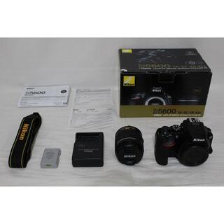 Nikon - ★ほぼ新品★ Nikon デジタル一眼レフカメラ AF-P D5600LKBK