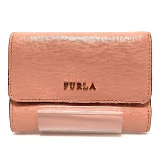 フルラ(Furla)のフルラ 3つ折り財布 - ピンク レザー(財布)
