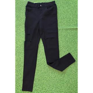 アナップ(ANAP)の★美品★ANAP GIRL ズボン 黒 スキニー M 150〜160(パンツ/スパッツ)