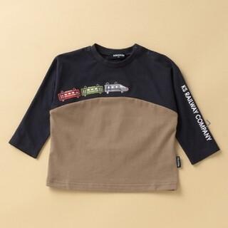 kladskap - クレードスコープ★電車ワッペン長袖Tシャツ110