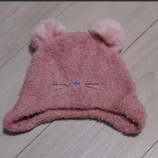 プティマイン(petit main)のpetitmain ニット帽 48cm(帽子)