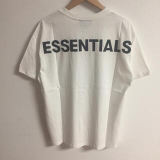 FEAR OF GOD - サイズM白 fog essentialsTシャツ