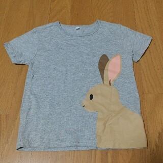 ムジルシリョウヒン(MUJI (無印良品))のMUJI 無印良品 動物Tシャツ 120(Tシャツ/カットソー)