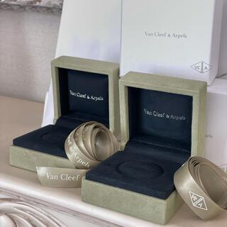 ヴァンクリーフアンドアーペル(Van Cleef & Arpels)のVan Cleef& Arpels ヴァンクリ リングの箱とリボン2個セット(その他)