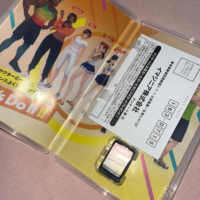Nintendo Switch(ニンテンドースイッチ)のフィットボクシング2 -リズム&エクササイズ- Switch グリップ付 エンタメ/ホビーのゲームソフト/ゲーム機本体(家庭用ゲームソフト)の商品写真