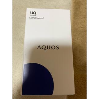 SHARP - AQUOS sense2 ニュアンスブラック SHV43-u(SIM解除済)