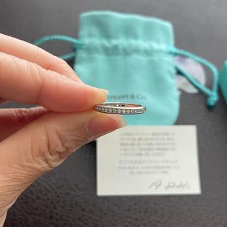 ティファニー(Tiffany & Co.)のティファニー® ダイヤモンド ウェディング バンドリング 9号(リング(指輪))