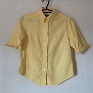 イーストボーイ(EASTBOY)のイーストボーイ 半袖シャツ イエロー 9号(シャツ/ブラウス(半袖/袖なし))