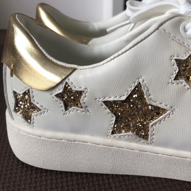 Stradivarius★ストラディバリウス スニーカー ラメスター星 38 レディースの靴/シューズ(スニーカー)の商品写真