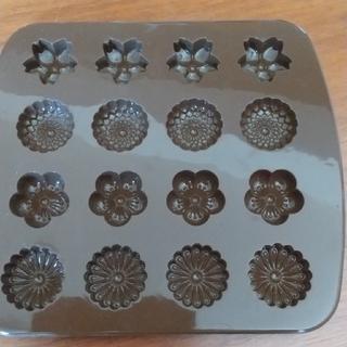 ムジルシリョウヒン(MUJI (無印良品))の無印良品 シリコン 型 和菓子型 花(調理道具/製菓道具)