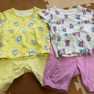 ユニクロ(UNIQLO)のUNIQLO ドラえもんパジャマ 80 2セット(パジャマ)