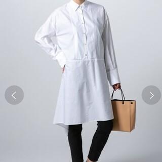 ダブルスタンダードクロージング(DOUBLE STANDARD CLOTHING)のダブルスタンダードクロージング 白シャツ ワンピース(シャツ/ブラウス(長袖/七分))
