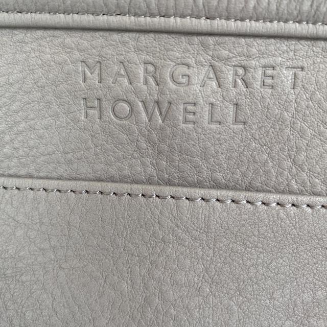 MARGARET HOWELL(マーガレットハウエル)の極美品 MARGARET HOWELL シュリンクレザー トートバッグ レディースのバッグ(トートバッグ)の商品写真