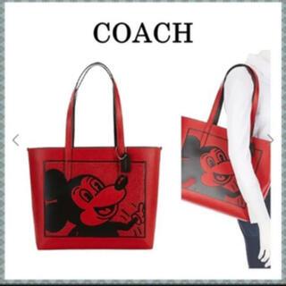 コーチ(COACH)の新作 COACH ミッキーマウス X キース・ヘリング トート C0896(トートバッグ)