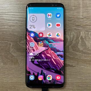 Galaxy - Galaxy S8 Black 64 GB SIMフリー
