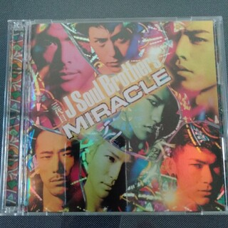 サンダイメジェイソウルブラザーズ(三代目 J Soul Brothers)のCD+DVD 三代目JSoulBrothers MIRACLE(ポップス/ロック(邦楽))