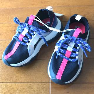 ザラキッズ(ZARA KIDS)のZARA kids スニーカー 女の子 新品 size19.5cm(スニーカー)