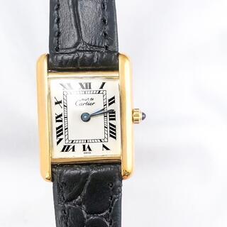 Cartier - 【仕上済】カルティエ タンク ゴールド YG SM レディース 腕時計